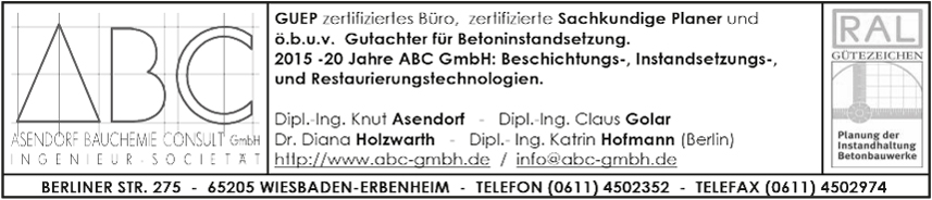 c/o ABS Asendorf Bauchemie Bauconsult