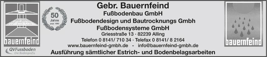 Gebr. Bauernfeind, Trocknungstechnik GmbH