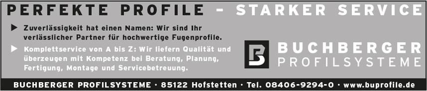Buchberger Profilsysteme
