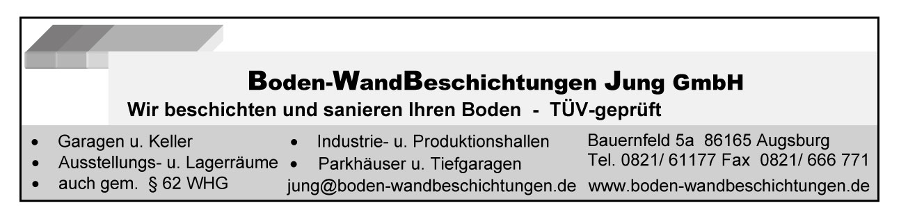 Boden-Wand Beschichtungen Jung GmbH