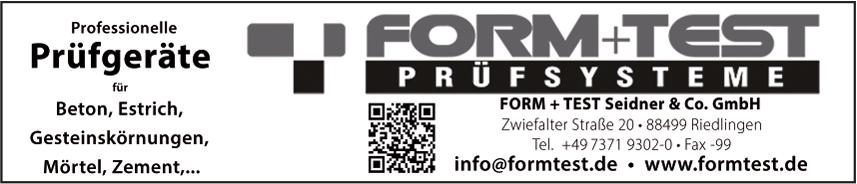 FORM+TEST Seidner&Co. GmbH