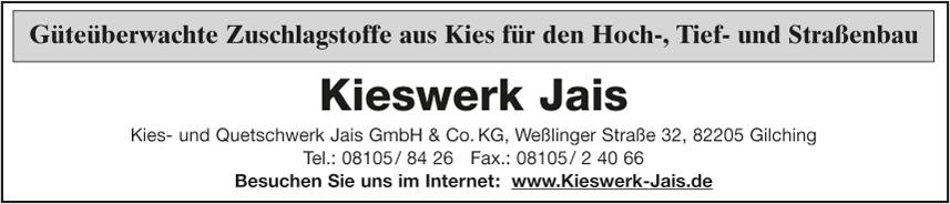 Kies- und Quetschwerk Jais GmbH & Co. KG