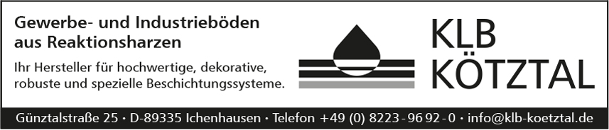 KLB Kötztal Lacke & Beschichtungen GmbH, Ichenhausen