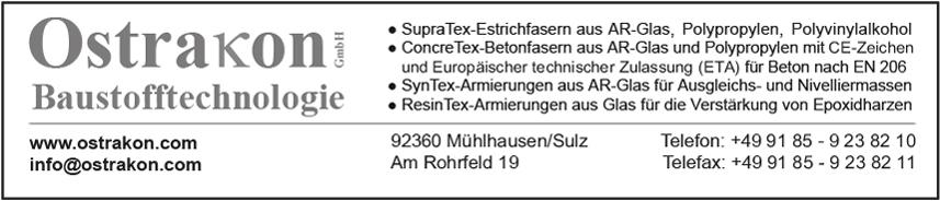 Ostrakon GmbH Baustofftechnologie