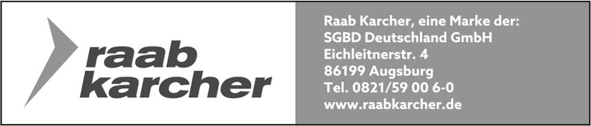 Saint-Gobain Building Distribution Deutschland GmbH Niederlassung Raab Karcher Augsburg