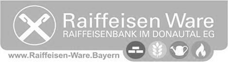 Raiffeisen Ware der  Raiffeisenbank im Donautal eG