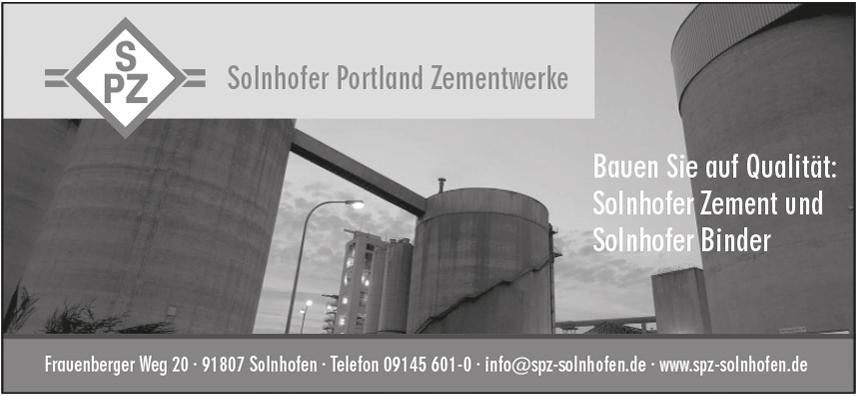 Solnhofer Portland-Zementwerke GmbH & Co. KG